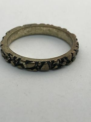Stone style old gold ring