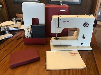 BERNINA 40 MINIMATIC Sewing Machine Fabulous Condition And Serviced Enchanting Bernina 807 Sewing Machine