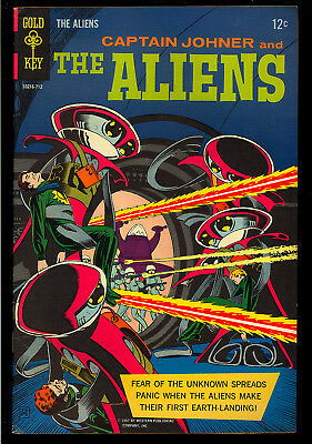 The Aliens #1 Very Nice First Issue Gold Key File Copy Comic 1967 FN-VF