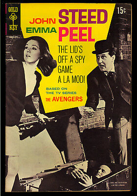 The Avengers #1 Very Nice Gold Key TV Photo Cover Comic 1968 FN-VF