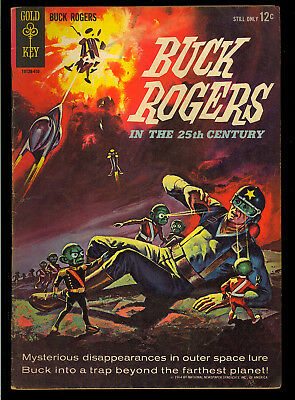 Buck Rogers in the 25th Century #1 Nice 1st S.A. App. Gold Key Comic 1964 VG+