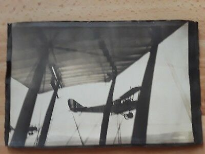 2 ORIGINAL photos from album: Curtiss JN-4 Jenny and massive airshow over SD