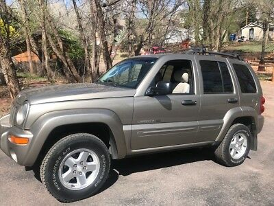 2003 Jeep Liberty  2003 JEEP LIBERTY LIMITED 4x4