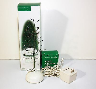 Department Dept 56 Village Twinkle Brite Tree, LED Lighted Tree & AC Adapter