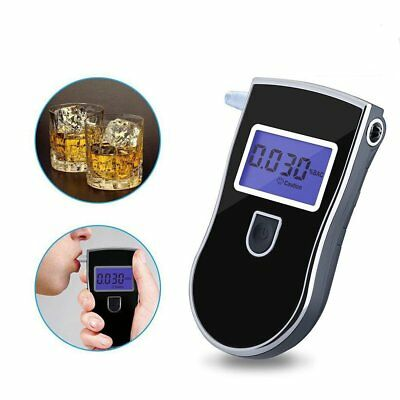 Portable LCD Accurate Home Breath Alcohol Test Testing Breathalyzer Security