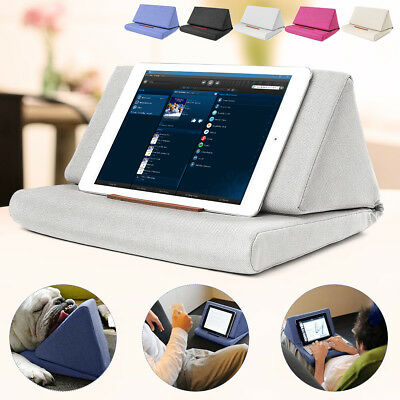 Durable Tablet Pillow Holder Bookrest Stand Foam Lap Support Cushion for iPad