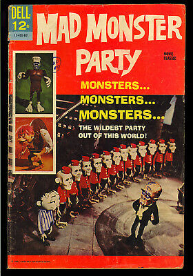 Movie Classic: Mad Monster Party #nn Horror Dell Comic 1967 GD+