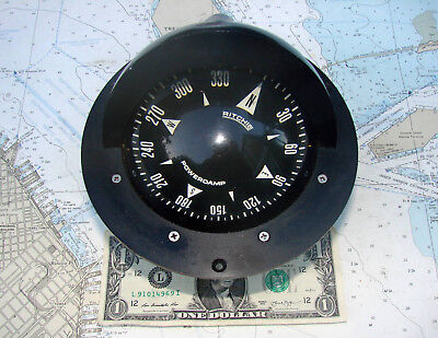 Ritchie FN-44 POWERDAMP OFFSHORE COMPASS-12 Photos-SERIOUS INSTRUMENT-L@@K !!