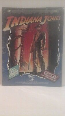 "New - Sealed - 1984 ""indiana Jones And The Temple Of Doom Adventure Pack - Rpg"
