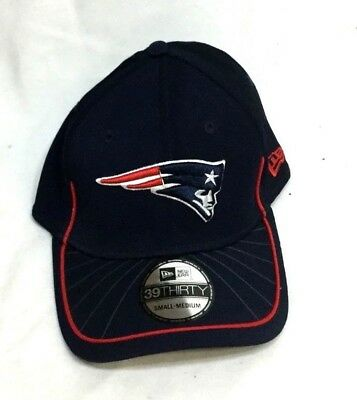 132127378a3d17 New England Patriots New Era 3930 Sideline Flex Fit Hat Cap Small / Medium