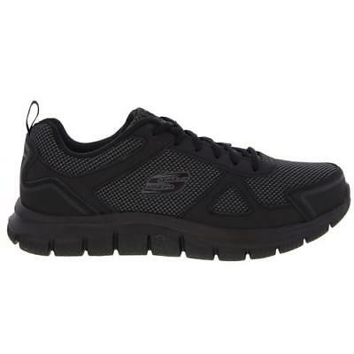 Skechers Track Bucolo Mens Wide Fit Leather Memory Foam Trainers Shoes Size 7-13