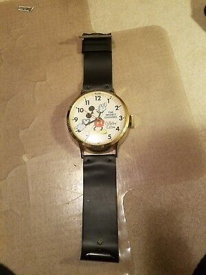 """Disney Channel Collectors Edition Mickey Mouse Giant Wrist Watch Wall Clock, 38"""""""