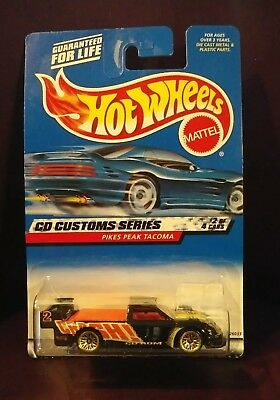 HOT WHEELS 2000 CD CUSTOMS SERIES PIKES PEAK TACOMA  #030