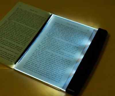 Portable LED Read Panel Light Book Reading Lamp Night Vision For Travel