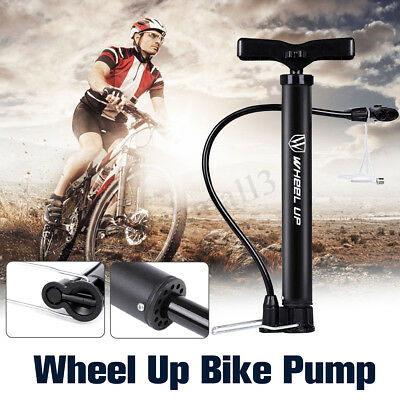 Portable Mini Bicycle Bike Cycling Tire Tyre High Pressure Air Hand Floor Pump