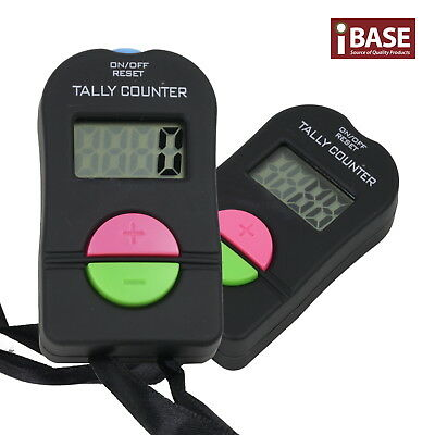 Digital Tally Counter Electronic Hand Head Clicker Bouncer Crowd Golf Number Mul