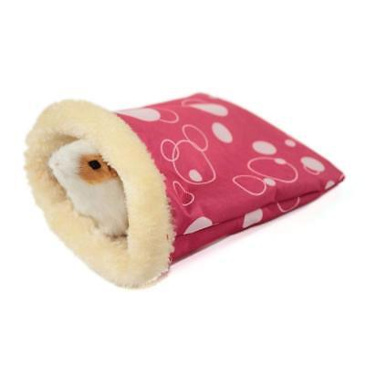 Small Pet Hamster Sleeping Bag Pouch Soft Warm House For Winter GYTH