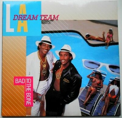 Lp De**l.a. Dream Team - Bad To The Bone (Mca Records '87)**30622