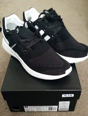 super popular c4608 70961 Adidas y3 zg knit pure boost Black cw eqt support BNIB condition size UK7  US7