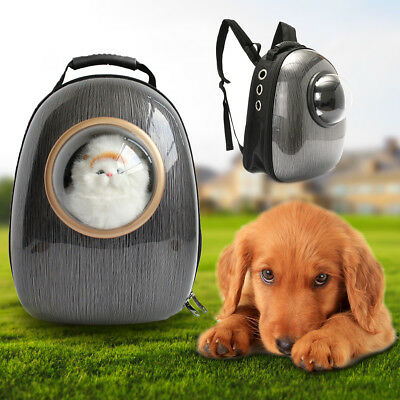 Cute Dog Cat Pet Astronaut Capsule Backpack Carrier Breathable Travel Space Bag