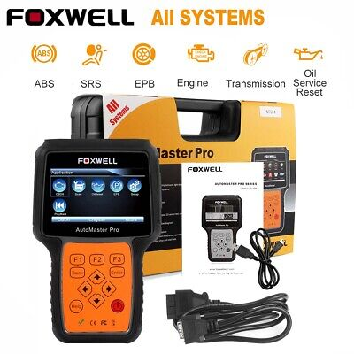Foxwell NT624 All System ABS SRS SAS Oil Reset Auto Code Reader Diagnostic Tool