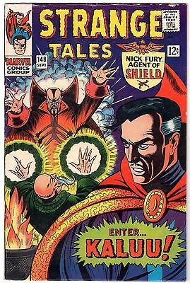 Strange Tales #148, Dr. Strange & Nick Fury, Agent of SHIELD - F - VF Condition'