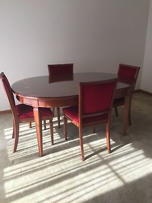 Antique Dining Table (extendable) and Chairs