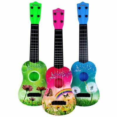 Kids Beginner Ukulele Ukelele Soprano Instrument Hawaii Solid Guitar Free Bag