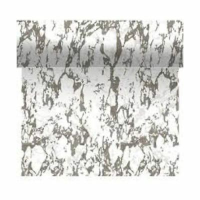 Duni Marble Tete A Tete 0.4 x 4.8m - Pack of 12