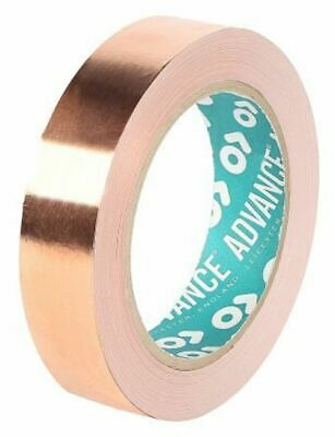 Advance Tapes AT526 Conductive Copper Tape, 10mm x 33m