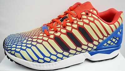 82a6d6bf7 ADIDAS ZX FLUX Xeno Men s Trainers Brand New Size Uk 11.5 (Ev9) - S ...
