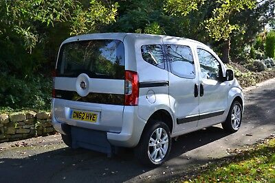 Fiat Qubo 1.4 Dynamic 2012  upfront passenger wheelchair easy access 15111 miles