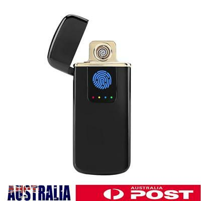 Ultrathin Windproof Electric Cigarette Lighter USB Rechargeable Flameless Plasma