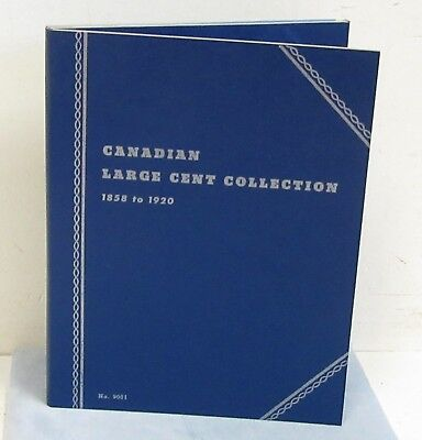 24 different Canadian Large Cents In folder. G-XF