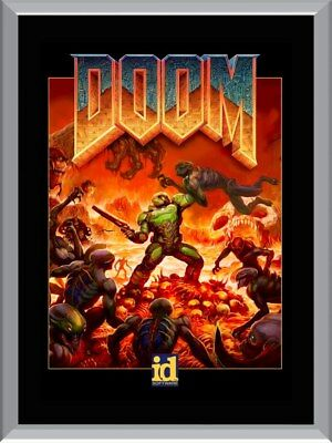 Doom Game A1 To A4 Size Poster Prints