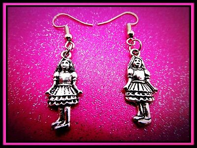Pretty Girlie Earrings,Girl,Drop,Pierced,Gift Idea,Doll,Cute,Earrings,Fun,Xmas