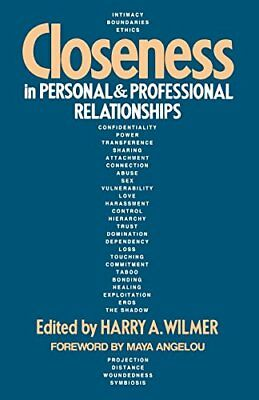 Closeness in Personal and Professional Relationships Paperback Book The Cheap