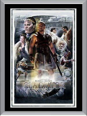 Gladiator Art A1 To A4 Size Poster Prints