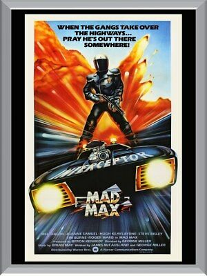 Mad Max Interceptor A1 To A4 Size Poster Prints