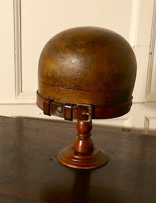 French Vintage 19th Century Hat Block Stand, shop display