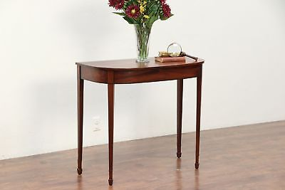 Hepplewhite 1790 Antique Mahogany Hall Console Table or Server #29763