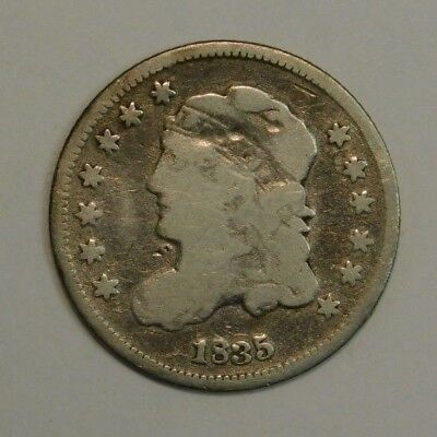 1835 Silver Capped Bust Half Dime Check Pics!!