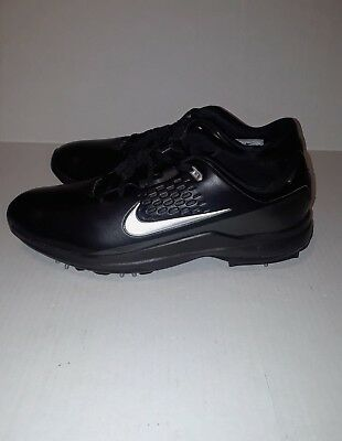 a05cb0ad8e5d AA1990-002 Nike Air Zoom Tiger Woods TW71 Men s Golf Shoe Black worth  150