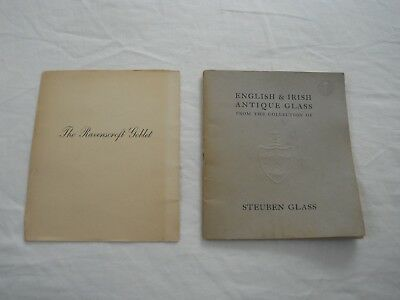 Vintage Steuben English and Irish Antique Glass Reference Booklet