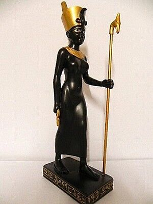 Neith Egypt, 22 cm Figure, New, Collector's Figurine, Made of Polyresin, Egypt