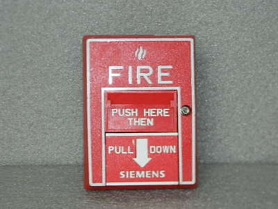 Siemens Cerberus Pyrotronics Msi-20B Dual Action Manual Pull Station Fire Alarm