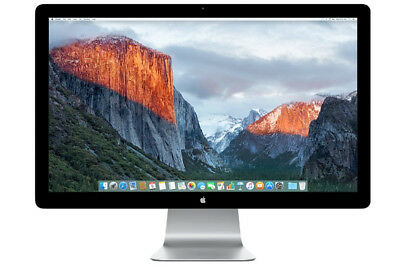 """Apple Thunderbolt Display A1407 27"""" Widescreen LCD Monitor w/ built-in speakers"""