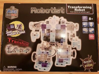 ArTec Robotist Transforming and Programmable Robot Electronic Building Kit
