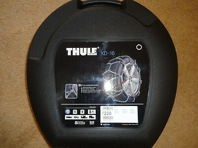 THULE KONIG SNOW CHAINS XD-16 - Size 220 - NEW