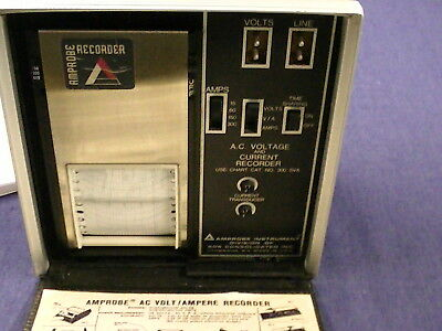 Amprobe Recorder AC Voltage and Current Recorder Electrician meter